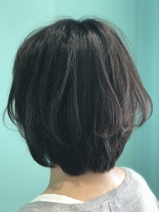 【EuphoriaHARAJUKU】ショートボブ×透明感カラー☆ 担当森|Euphoria HARAJUKUのヘアスタイル