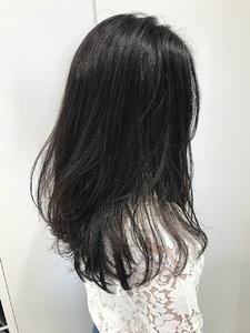 【EuphoriaHARAJUKU】ダークグレーでオシャレな暗髪♪担当宍戸|Euphoria HARAJUKUのヘアスタイル