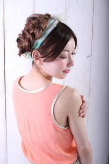 可愛いヘアアレンジ! Euphoria 【ユーフォリア】池袋東口駅前店のヘアスタイル