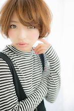 丸さがポイント☆柔らかショートボブ|Euphoria 【ユーフォリア】池袋東口駅前店のヘアスタイル