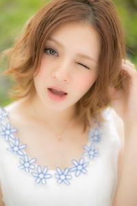 【Euphoria】ゆるふわミディスタイル