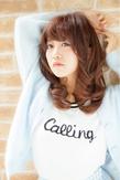 【Euphoria】色っぽリップの甘えんぼガール☆外ハネミディ