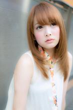 どんな顔型、骨格、髪質にも似合わせられる、大人かわいい美髪ストレート|Euphoria SHIBUYA GRANDE 土田 哲也のヘアスタイル