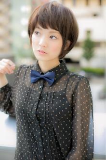 人気の王道ショート|Euphoria SHIBUYA GRANDEのヘアスタイル