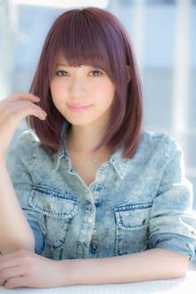 小顔なSWEETストレート|Euphoria SHIBUYA GRANDEのヘアスタイル