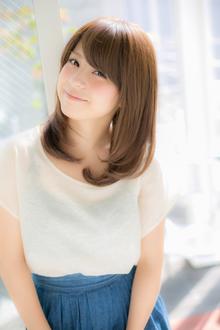 ツヤとまとまりのあるカジュアル愛されストレート☆|Euphoria SHIBUYA GRANDEのヘアスタイル