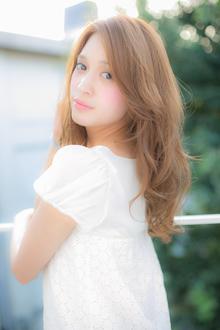 フリルみたいに重なるドーリーヘア☆|Euphoria SHIBUYA GRANDEのヘアスタイル
