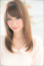 私が輝く☆透明感重視のモテストレート|Euphoria SHIBUYA GRANDE 椎名 裕紀のヘアスタイル