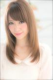 私が輝く☆透明感重視のモテストレート|Euphoria SHIBUYA GRANDEのヘアスタイル