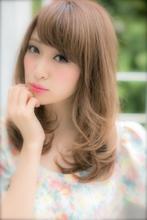 愛され度満点☆ふんわりヌーディーカール|Euphoria SHIBUYA GRANDE 椎名 裕紀のヘアスタイル