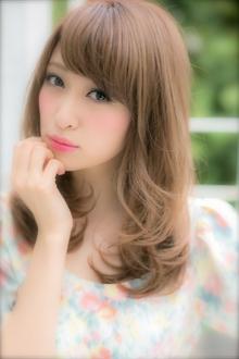 愛され度満点☆ふんわりヌーディーカール|Euphoria SHIBUYA GRANDEのヘアスタイル