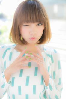 誰からも愛される大人可愛いボブ|Euphoria SHIBUYA GRANDEのヘアスタイル