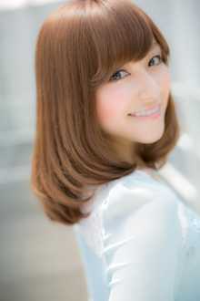 ふんわりサラつやセミディ|Euphoria SHIBUYA GRANDEのヘアスタイル