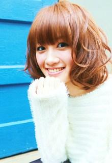ドーリーフリルウェーブ|Euphoria SHIBUYA GRANDEのヘアスタイル