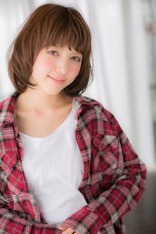 【Euphoria】外国の女の子みたいなボブ|Euphoria SHIBUYA GRANDEのヘアスタイル