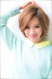 似合わせ☆ふんわりショートボブ|Euphoria SHIBUYA GRANDEのヘアスタイル