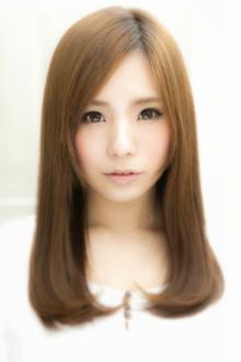 指通りさらさら☆ナチュラルシルキーストレート|Euphoria SHIBUYA GRANDEのヘアスタイル