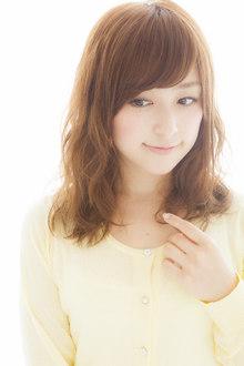 笑顔がステキな彼女に見とれる☆ホリデーライクヘア Euphoria SHIBUYA GRANDEのヘアスタイル