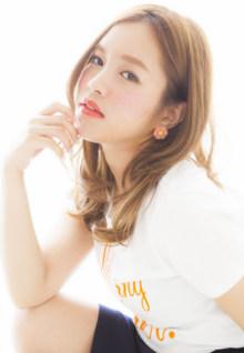 耳かけXAiry Semilong|Euphoria SHIBUYA GRANDEのヘアスタイル