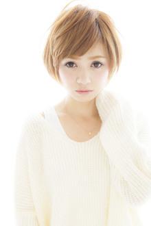 乾かすだけで決まるショートボブ☆カットで見せるひし形シルエット☆|Euphoria SHIBUYA GRANDEのヘアスタイル
