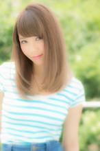 誰でも似合う可愛い愛されナチュラルストレート☆|Euphoria SHIBUYA GRANDEのヘアスタイル