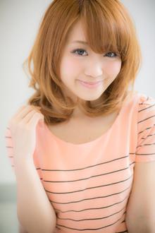 ふんわりモテミディ|Euphoria SHIBUYA GRANDEのヘアスタイル