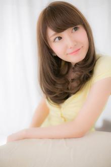 【Euphoria】みんなの憧れエッジカール☆愛され厚めバング|Euphoria 【ユーフォリア】新宿店のヘアスタイル