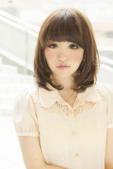 【Euphoria】恋する女子の甘めが可愛いスウィートヘアー|Euphoria 【ユーフォリア】新宿店のヘアスタイル