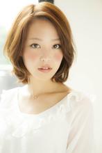 【Euphoria】ルミエールジンジャーカラー、大人フェミニン女子|Euphoria 【ユーフォリア】新宿店のヘアスタイル