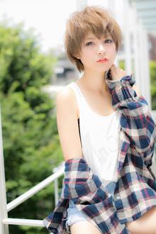 暑い日差しもフローズン☆少年風ウェットショート  |Euphoria【ユーフォリア】新宿通りのヘアスタイル