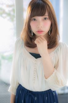 誰からも愛されるのはこんなナチュラルラブヘア☆ Euphoria【ユーフォリア】新宿通りのヘアスタイル