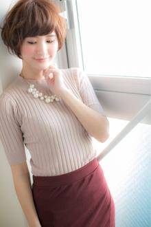 柔らかな日差しに映える天使のような絶妙さ☆ Euphoria【ユーフォリア】新宿通りのヘアスタイル