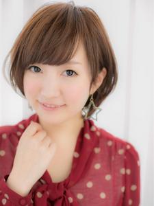 耳かけ☆ラブリーなクラシカルボブ☆ Euphoria【ユーフォリア】新宿通りのヘアスタイル