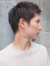 束感重視の爽やか黒髪ベリーショート|FAIR LADY 下北沢店のメンズヘアスタイル