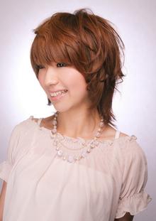 ポイントパーマで骨格修正 Hair's Feminine 宝塚中山店のヘアスタイル