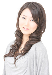 エアウェーブでスタイリング簡単仕上げ Hair's Feminine 宝塚中山店のヘアスタイル