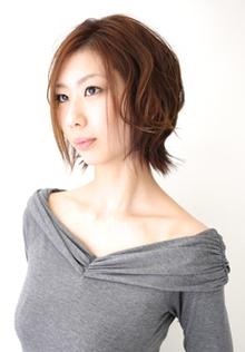 自分でも簡単アレンジ Hair's Feminine 宝塚中山店のヘアスタイル