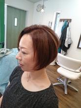 夏らしい髪色へ|atelier Fish&Flower 箱作本店のヘアスタイル