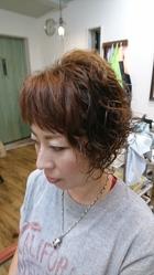 女子力アップのショートスタイル|atelier Fish&Flower 箱作本店のヘアスタイル