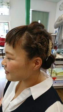 およばれスタイル|atelier Fish&Flower 箱作本店のヘアスタイル