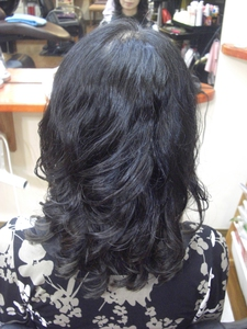 理想のカールができました!|フレンド美容室のヘアスタイル
