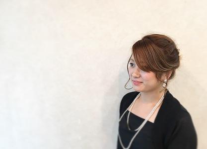 アップスタイル GARCONs FEMMEのヘアスタイル