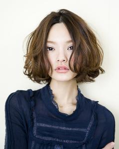 可愛らしさとクールさを合わせたスタイル|GARDEN omotesandoのヘアスタイル