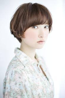 柔らかクリーミーボブスタイル|GARDEN omotesandoのヘアスタイル