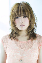 大人っぽいミディアムレイヤー|GARDEN omotesando 北田 ゆうすけのヘアスタイル