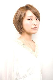 ナチュラル&クールな姉系シンプルボブ|GARDEN omotesandoのヘアスタイル