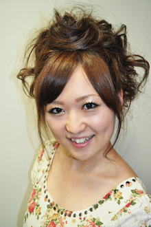 お呼ばれスタイル|Hair&Make gracias 西宮北口本店のヘアスタイル