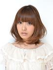 ひし形シルエットのミディレイヤー|GUZZLE HARAJUKUのヘアスタイル