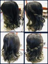 ヘアーアレンジも🆗|Hair Design ECRUのヘアスタイル