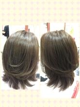 赤みを抑えたカラー|Hair Design ECRUのヘアスタイル
